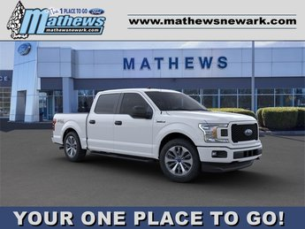 2020 Oxford White Ford F-150 XL 4WD SuperCrew 5.5' Box Automatic Truck 4 Door