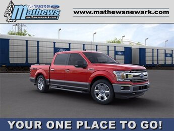 2020 Ford F-150 4WD SuperCrew Box Automatic 4X4 4 Door 3.5 L 6-Cylinder Engine