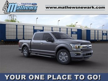 2020 Magnetic Metallic Ford F-150 4WD SuperCrew Box 3.5 L 6-Cylinder Engine Truck 4X4