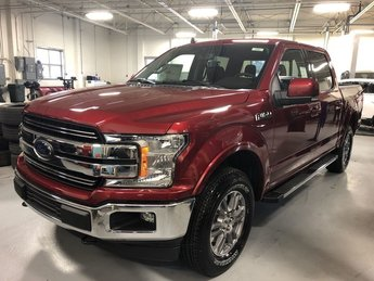 2019 RED Ford F-150 LARIAT 4X4 4 Door Automatic Truck 5.0L 8-Cyl Engine