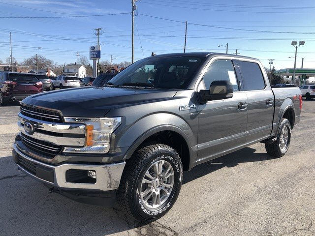 2019 Ford F-150 LARIAT 4 Door Automatic 5.0L 8-Cyl Engine 4X4 Truck