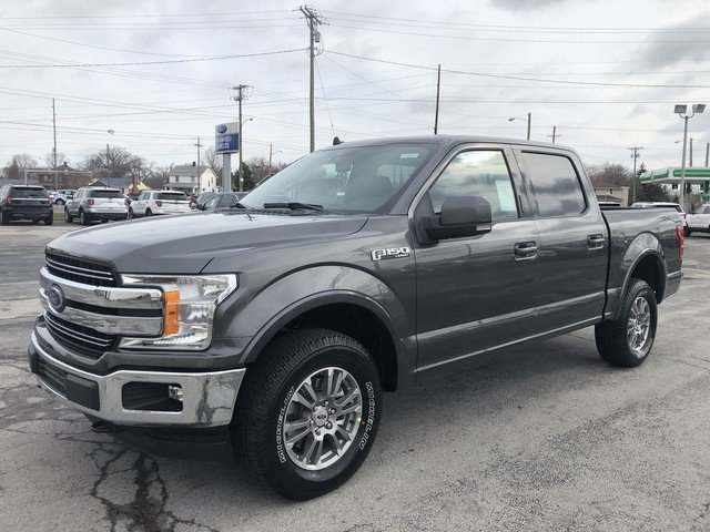 2019 Ford F-150 LARIAT Automatic 4X4 4 Door 5.0L 8-Cyl Engine Truck