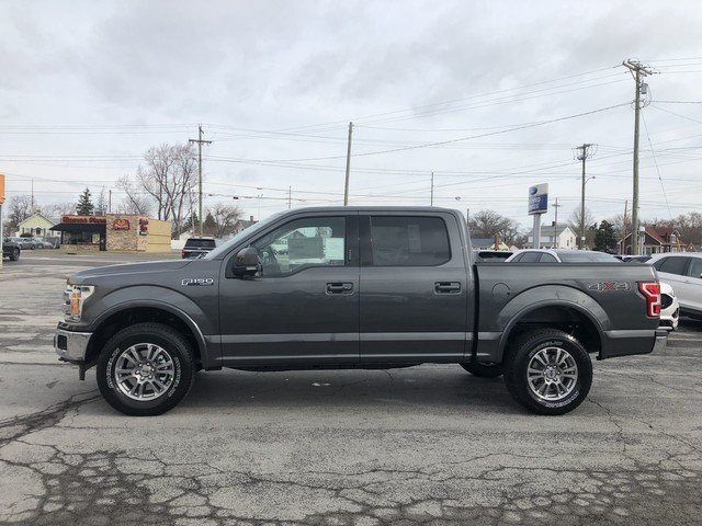 2019 Ford F-150 LARIAT 4X4 5.0L 8-Cyl Engine Automatic