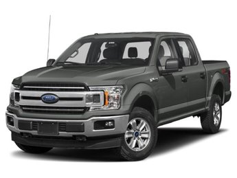2020 Magnetic Metallic Ford F-150 XLT 2.7 L 6-Cylinder Engine Truck 4X4 4 Door Automatic