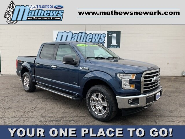 2017 MIDNIGHT_SAPPHIRE Ford F-150 4WD SuperCrew 5.5' Box Truck 4 Door 2.7 L 6-Cylinder Engine