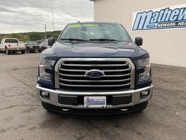2017 Ford F-150 4WD SuperCrew 5.5' Box 2.7 L 6-Cylinder Engine Truck 4 Door Automatic 4X4