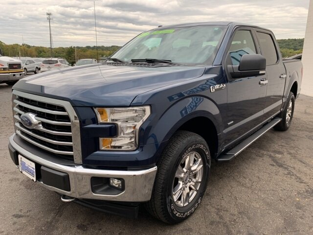 2017 MIDNIGHT_SAPPHIRE Ford F-150 4WD SuperCrew 5.5' Box Automatic 4 Door 4X4 2.7 L 6-Cylinder Engine Truck