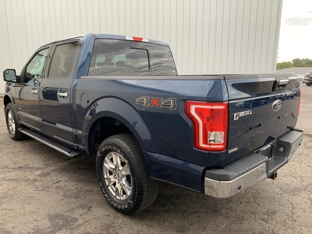 2017 Ford F-150 4WD SuperCrew 5.5' Box Automatic 2.7 L 6-Cylinder Engine 4 Door