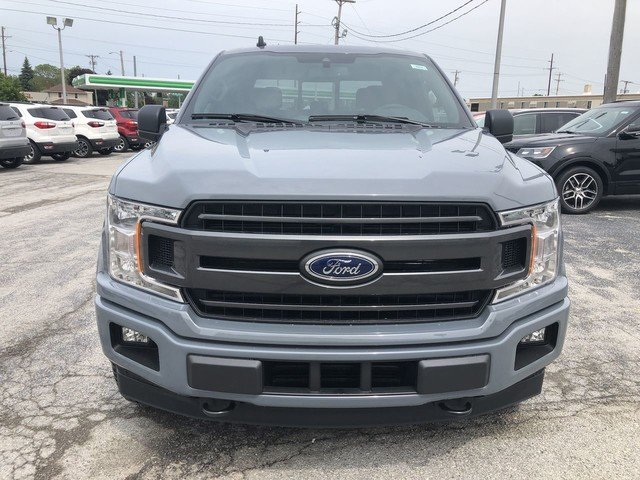 2019 GRAY Ford F-150 XLT Truck 2.7L V6 Cylinder Engine 4 Door
