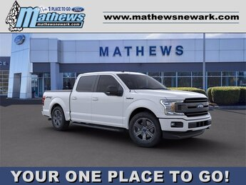 2020 White Ford F-150 LARIAT 4 Door 4X4 Truck Automatic