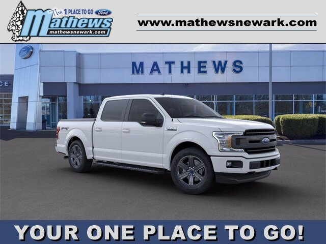2020 Ford F-150 LARIAT 4X4 Automatic Truck 2.7 L 6-Cylinder Engine