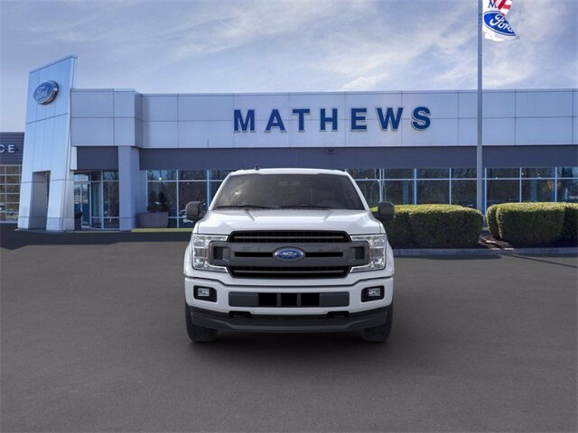 2020 White Ford F-150 LARIAT 2.7 L 6-Cylinder Engine Truck 4X4 4 Door