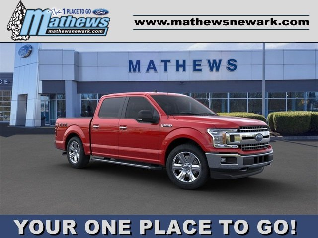 2020 Ford F-150 LARIAT 4X4 2.7L 6-Cylinder Engine 4 Door Automatic Truck
