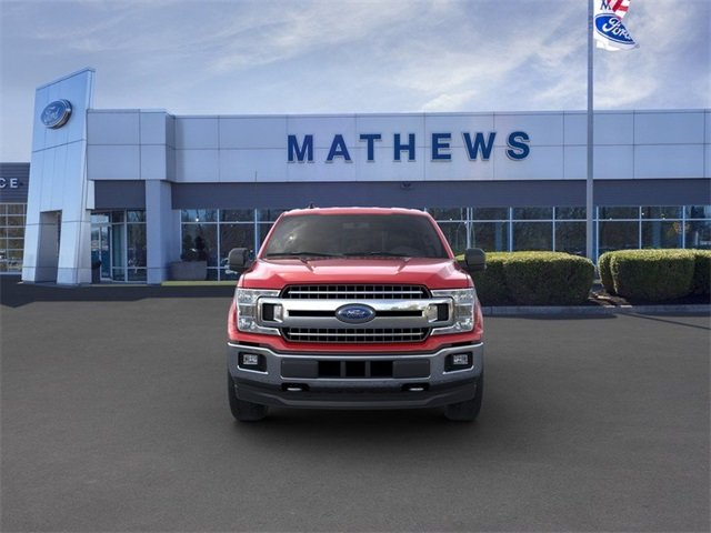 2020 Rapid Red Metallic Tinted Clearcoat Ford F-150 LARIAT Automatic 2.7L 6-Cylinder Engine 4X4