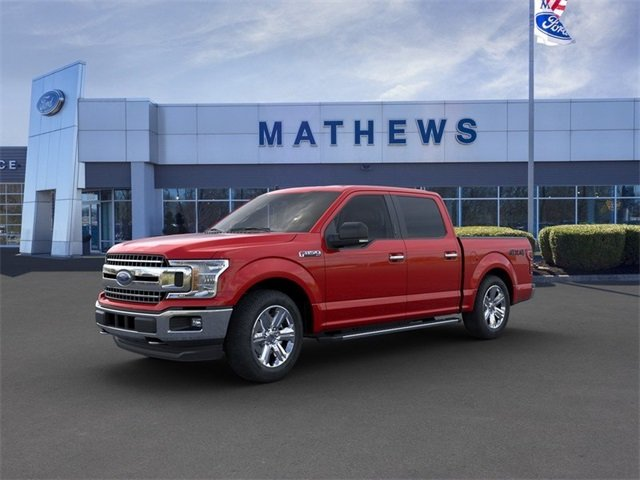 2020 Rapid Red Metallic Tinted Clearcoat Ford F-150 LARIAT 2.7L 6-Cylinder Engine Truck Automatic
