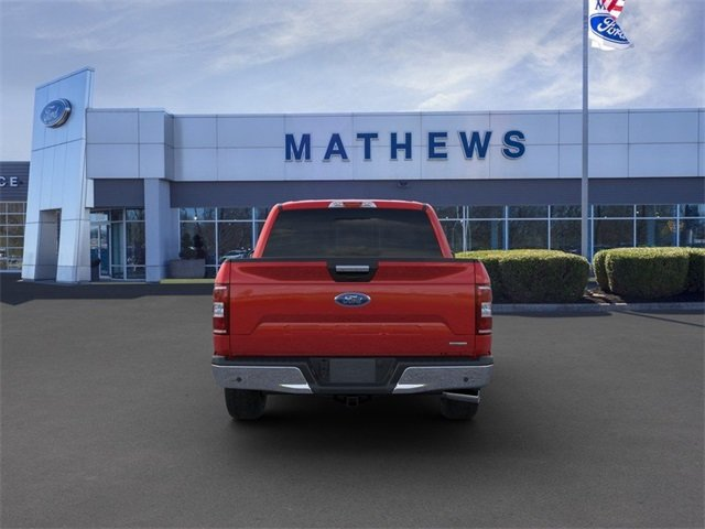2020 Rapid Red Metallic Tinted Clearcoat Ford F-150 LARIAT Automatic 4X4 4 Door 2.7L 6-Cylinder Engine