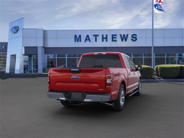 2020 Rapid Red Metallic Tinted Clearcoat Ford F-150 LARIAT Truck 4X4 4 Door