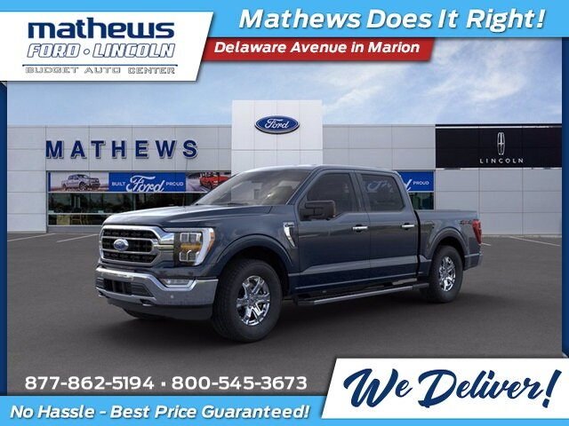 2021 Ford F-150 XLT 2.7L V6 EcoBoost Engine 4 Door Truck 4X4 Automatic
