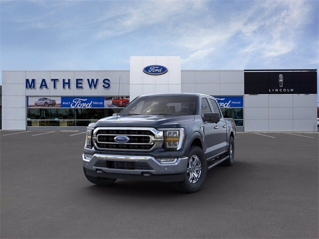 2021 Blue Ford F-150 XLT Truck 4X4 Automatic