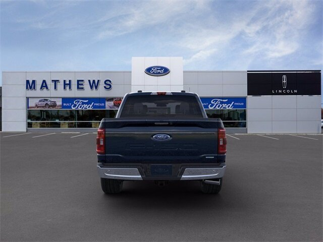 2021 Blue Ford F-150 XLT Automatic 4X4 4 Door 2.7L V6 EcoBoost Engine