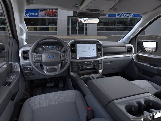 2021 Blue Ford F-150 XLT Truck Automatic 4 Door