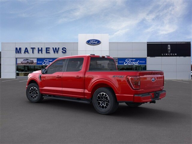 2021 School Bus Yellow Ford F-150 XLT Truck 4 Door 4X4 2.7L V6 EcoBoost Engine