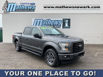 2017 Ford F-150 XLT 4WD SuperCrew 5.5' Box 2.7L 6-Cylinder Engine Automatic 4X4