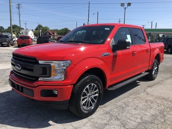 2019 RED Ford F-150 XLT 4 Door 2.7L V6 Cylinder Engine 4X4 Truck