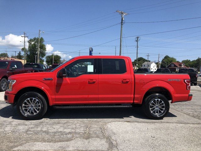 2019 RED Ford F-150 XLT 2.7L V6 Cylinder Engine Truck 4X4 4 Door
