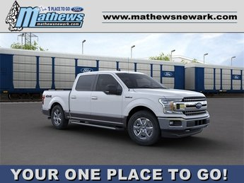 2020 OXFORD_WHITE Ford F-150 LARIAT Truck 4X4 Automatic