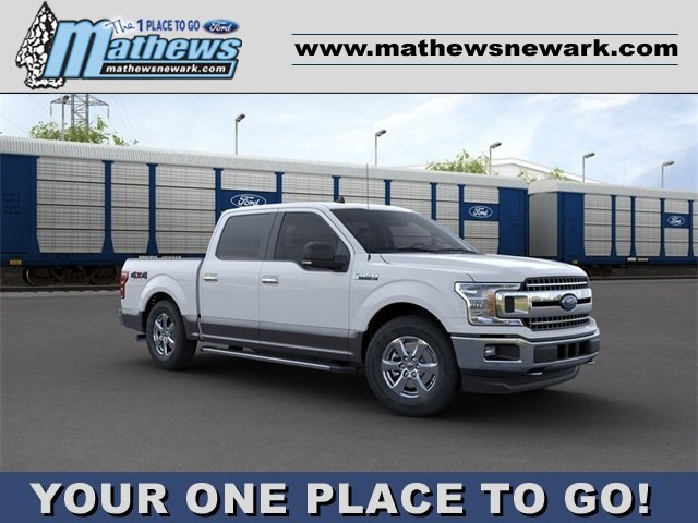 2020 OXFORD_WHITE Ford F-150 LARIAT Truck 4X4 4 Door 2.7L 6-Cylinder Engine Automatic