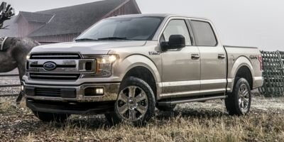 2020 VELOCITY_BLUE Ford F-150 LARIAT 4X4 2.7 L 6-Cylinder Engine Truck