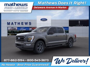 2021 Ford F-150 XLT 4X4 2.7L V6 EcoBoost Engine 4 Door Truck