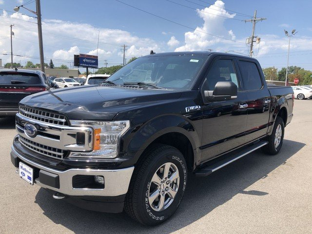 2019 Agate Black Metallic Ford F-150 XLT Truck 2.7L V6 Cylinder Engine 4 Door Automatic