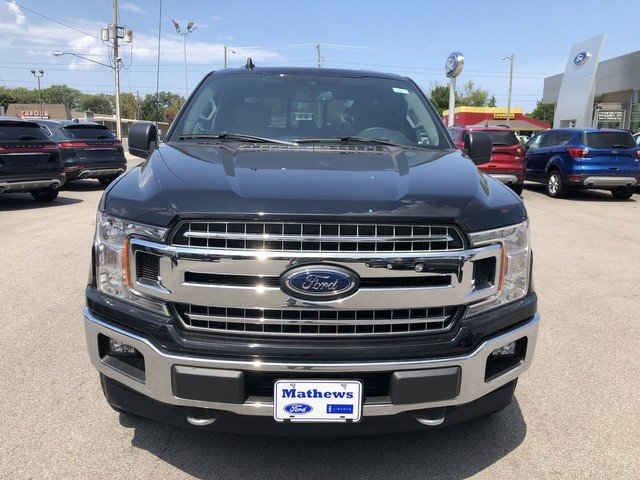 2019 Agate Black Metallic Ford F-150 XLT Truck 4 Door 2.7L V6 Cylinder Engine 4X4 Automatic