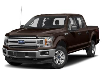2020 Magma Red Metallic Ford F-150 XLT 4X4 Truck 4 Door
