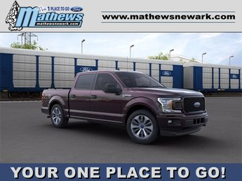 2020 Magma Red Metallic Ford F-150 LARIAT 4X4 Truck 4 Door 2.7 L 6-Cylinder Engine