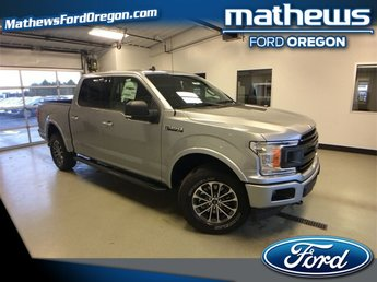 2020 Iconic Silver Metallic Ford F-150 XLT Truck 4X4 2.7L V6 Engine Automatic