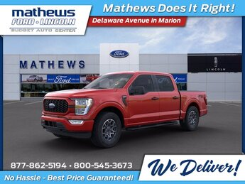 2021 Race Red Ford F-150 XL 4 Door Truck Automatic 2.7L V6 EcoBoost Engine 4X4
