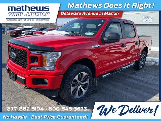 2019 Ford F-150 XL Automatic 4 Door 2.7L V6 EcoBoost Engine 4X4 Truck
