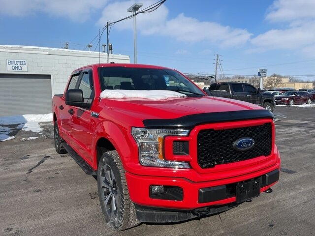 2019 Race Red Ford F-150 XL 4 Door 2.7L V6 EcoBoost Engine Truck Automatic