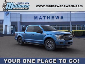 2020 Ford F-150 LARIAT 4 Door Truck Automatic 4X4 2.7 L 6-Cylinder Engine