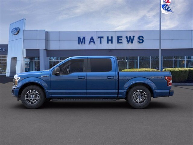 2020 Blue Ford F-150 LARIAT 2.7 L 6-Cylinder Engine Automatic Truck 4 Door