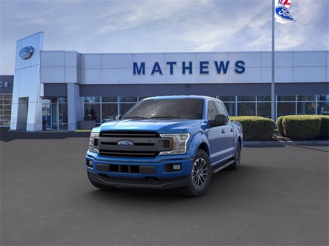 2020 Blue Ford F-150 LARIAT 2.7 L 6-Cylinder Engine 4 Door Truck
