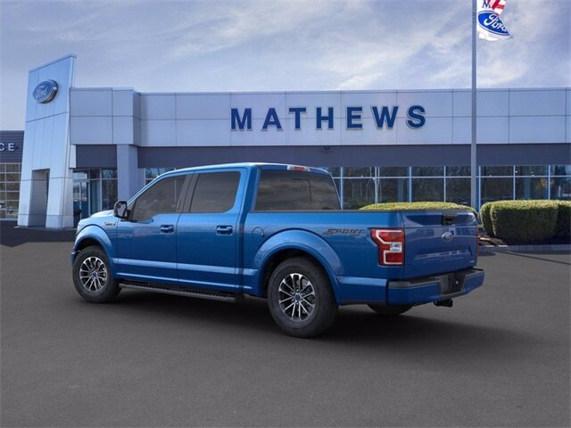 2020 Blue Ford F-150 LARIAT 2.7 L 6-Cylinder Engine 4 Door Truck Automatic 4X4