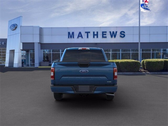 2020 Blue Ford F-150 LARIAT Truck 4 Door 2.7 L 6-Cylinder Engine Automatic 4X4
