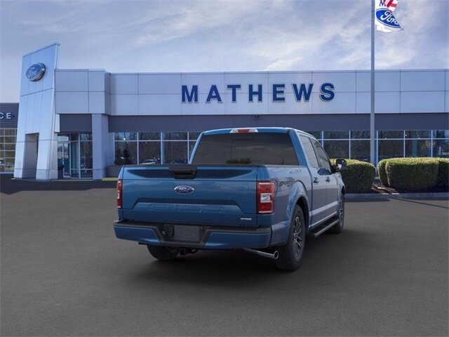 2020 Ford F-150 LARIAT 2.7 L 6-Cylinder Engine 4X4 4 Door Automatic