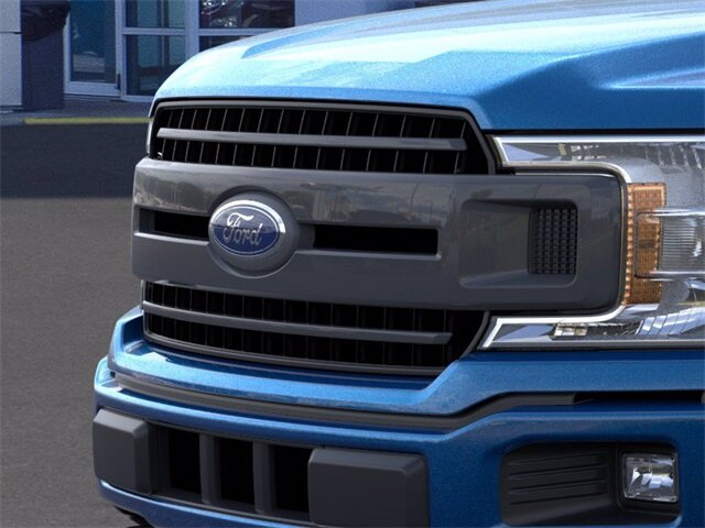 2020 Blue Ford F-150 LARIAT 2.7 L 6-Cylinder Engine Automatic 4 Door Truck 4X4
