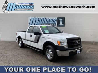 "2014 Oxford White Ford F-150 2WD SuperCab 145"" Truck 3.7 L 6-Cylinder Engine 4 Door Automatic RWD"