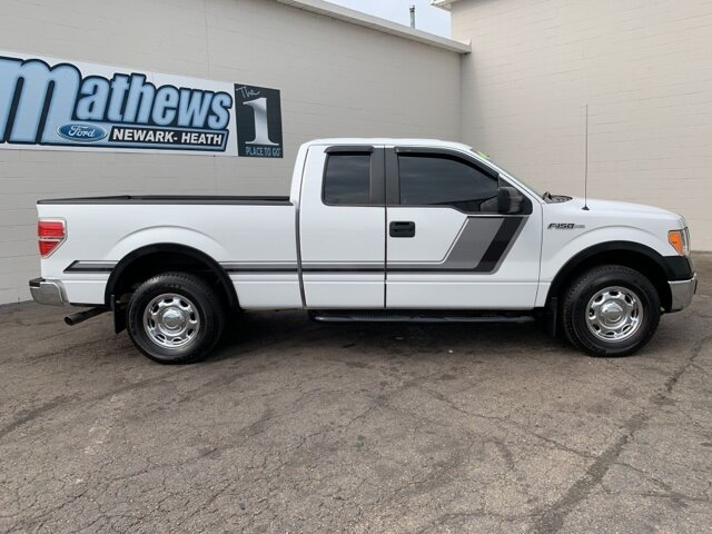 "2014 Ford F-150 2WD SuperCab 145"" RWD 4 Door Truck 3.7 L 6-Cylinder Engine Automatic"